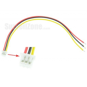 3PIN Power Video Cable for CC1333 Sony 600TVL camera