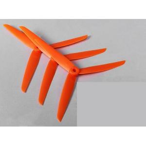 Three blade 7x3.5R propellers (Orange) 1VNT