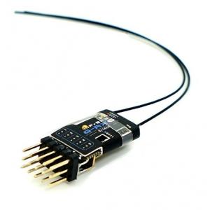 FrSky : FrSky G-RX6 Telemetry receiver (EU-LBT, 16CH, 3.5V-10V)