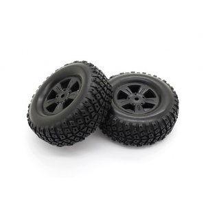 Tires Set - Basher PitBull 1/18 4WD Desert Buggy (2pcs)