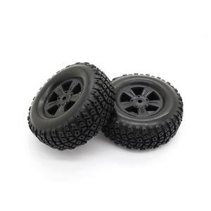 Tires Set - Basher PitBull 1/18 4WD Desert Buggy (2pcs)