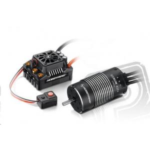 COMBO MAX8 T plug + EZRUN 4274 SL 2200Kv - black