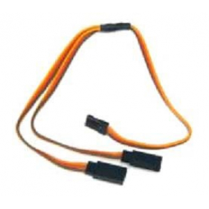 JR Straight Y lead 22AWG L=15CM
