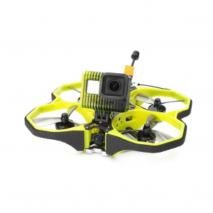 iFlight Protek35 Analog 3.5 Inch 4S Cinewhoop Yellow FPV Racing Drone PNP RaceCam R1 Mini Cam Succex Micro Force 5.8G 300mW VTX 2203.5 3600KV Motor Beast AIO F7 45A FC ESC - Without Receiver