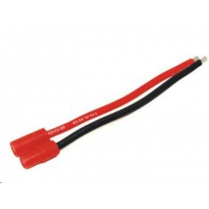 M001 3.5mm Female Connector With 14AWG Silicone Wire L=10CM