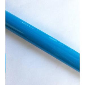 Šviesiai mėlyna dengimo plėvelė