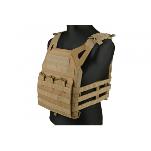 Jump type tactical vest - tan