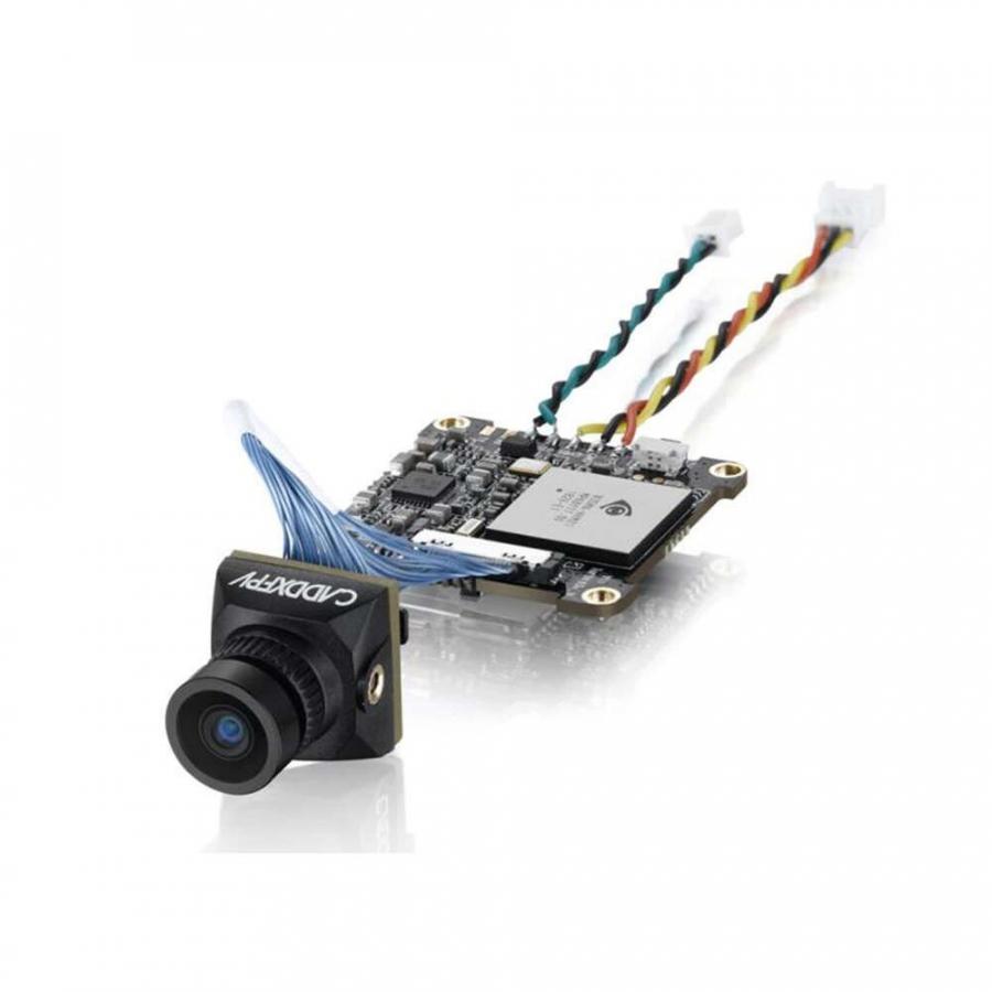 Caddx Baby Turtle 800TVL NTSC/PAL FPV camera balta