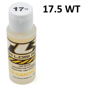 Team Losi Racing Silicone Shock Oil (2oz) (17.5wt)