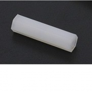 5.6mm x 22mm M3 Nylon Tapped Spacer