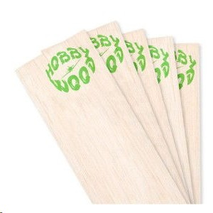 Wood hobby : Balsa 1.5mm medium-hard