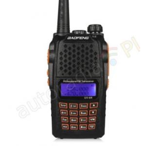 Baofeng UV-6R PMR radio Duobander PTT UV-5R racija