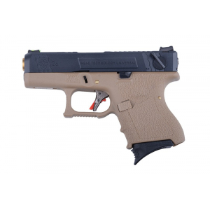 Airsoft ginklas pistoletas G26C Force pistol replica - tan