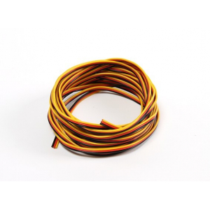22AWG Servo Wire 5mtr (Red/Black/Yellow)