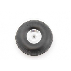 Rubber wheel 63 mm (aluminium rim and PTFE hub)