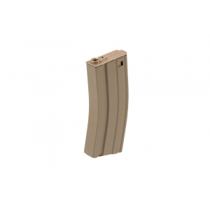 Magazine mid-cap 100 balls for replicas type M4 / M16 - tan