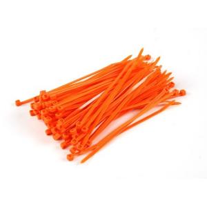 Cable Ties 150mm x 4mm Orange  10vnt